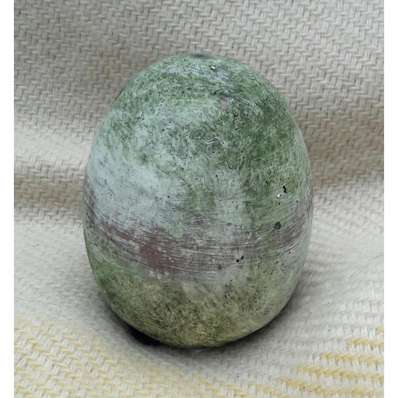 Keramikägg med patina