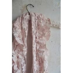 Vacker scarf i antik rosa från JDL