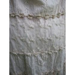 Puderrosa klänning/tunika i ljuvlig spets