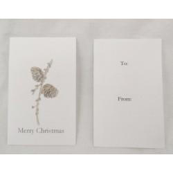 Vackert enkelt julkort med...
