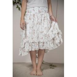 Söt kjol med rosmönster...