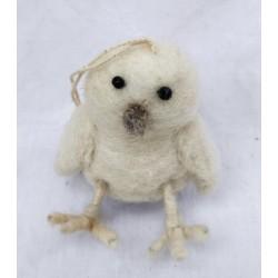 Pippi med ben i tovad ull