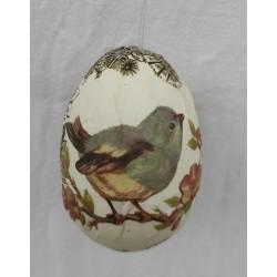 Vackert ägg med fågel i...