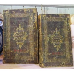 Bokgömma som gammal bibel, stor