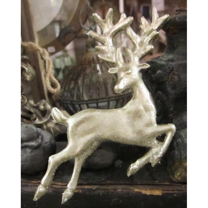 Hjort med glitter för dekoration
