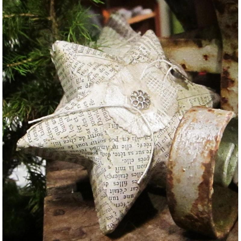Stjärna med bibelblad