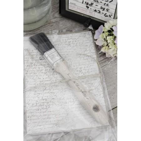 Pensel av syntetborst 3 cm bred från Jeanne D'arc Living
