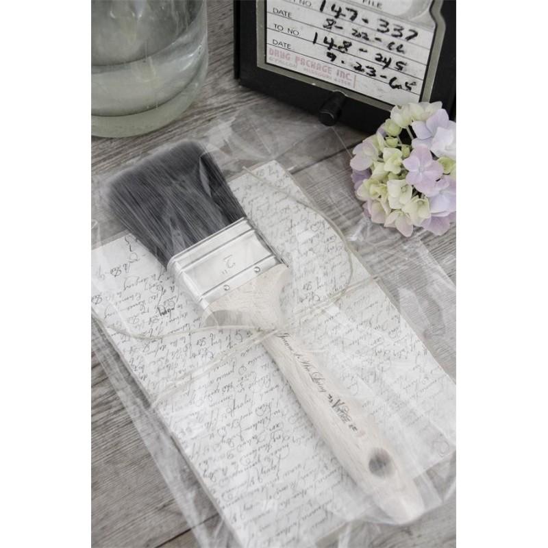 Pensel av syntetborst 6 cm bred