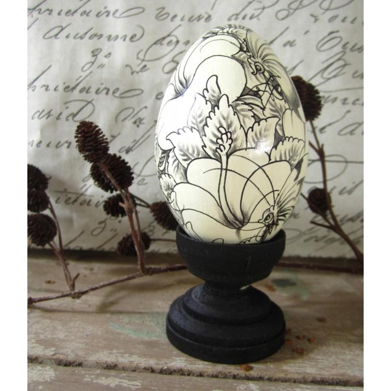 Handmålat ägg från Bali