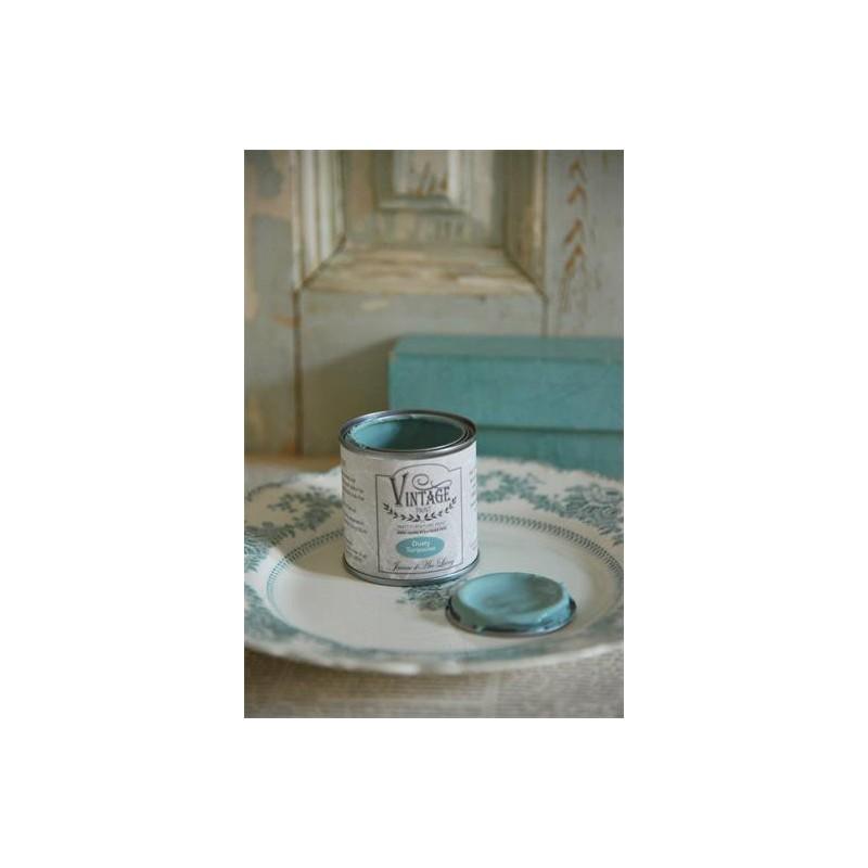 Vintage Paint, Dusty Turquiose, 0,1L från Jeanne D'arc Living