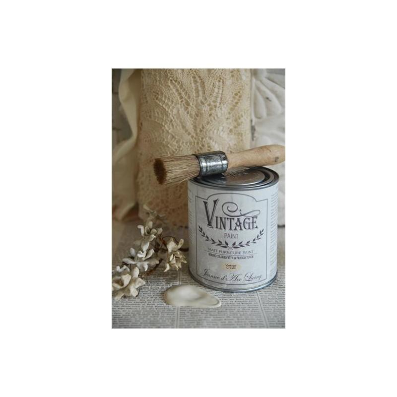 Vintage Paint,Vintage Cream, 0,1L från Jeanne D'arc Living